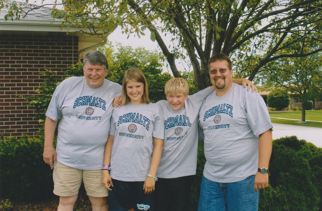 Customer Photo of the week the Schmaltz family