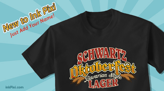 Personalized for Oktoberfest !