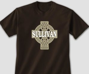 Show Your Celtic Heritage In Personalized Celtic Stone Cross Apparel
