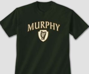 Personalized Irish Harp Tees & Sweatshirts