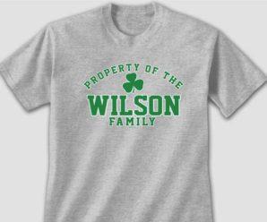 Personalize Property Of Irish Shirts And Hats