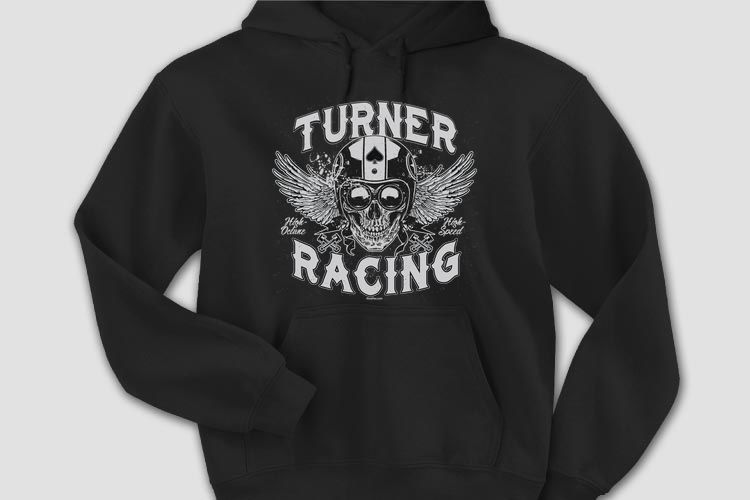 NEW Design: Racing Skull