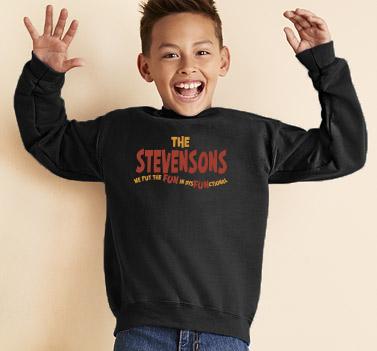 Dysfunctional Kids Sweatshirt Design #A403