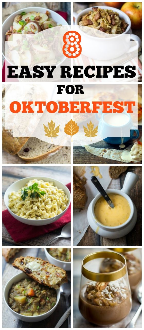 Easy Oktoberfest Recipes For Your Family