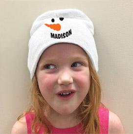 josie snowman beanie