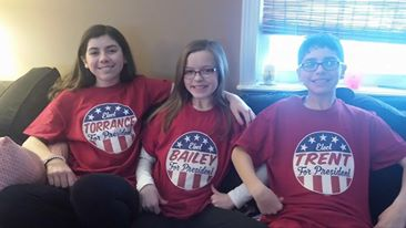 personalized retro election tees for kids customer photo of the week