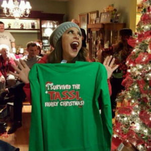 personalized christmas shirts survived_x-masa415