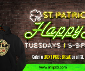 Get Your Irish Shirts During St. Paddy's Happy Hour