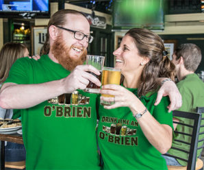 Last Call – Get Your Irish Shirts And Hats During Happy Hour!