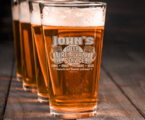 New Designs On Tap – Custom Pint Glasses