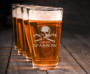 Ahoy Matey! Avast ye Custom Pint Glasses