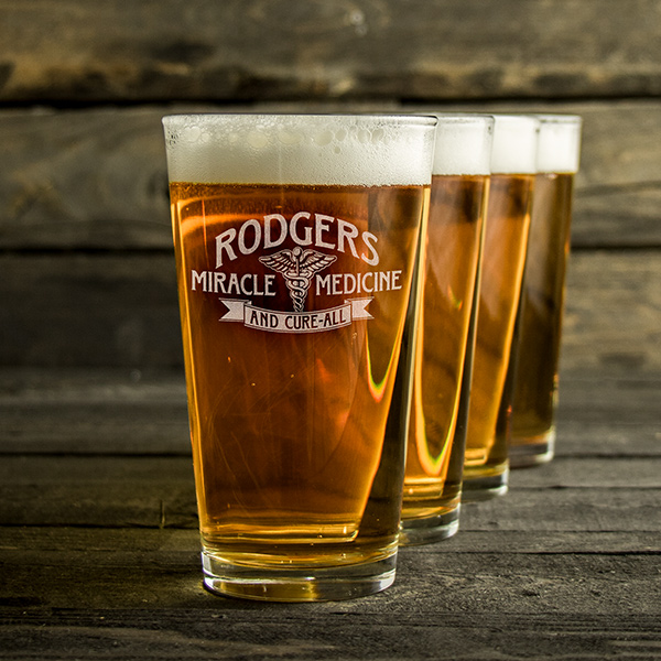 Miracle Medicine Pint Glass Set