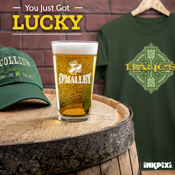 St. Patrick's Day Personalized Designs