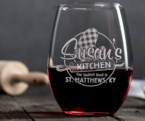 Custom Wine Glasses Will Make Her Day!