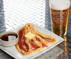 It's A Father's Day Extravaganza – Bacon Pancakes, Beer, & Bikes