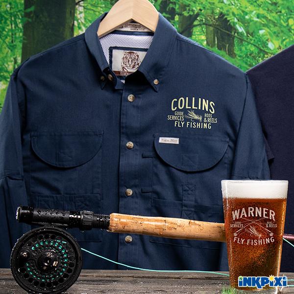 fly fishing personalized shirts