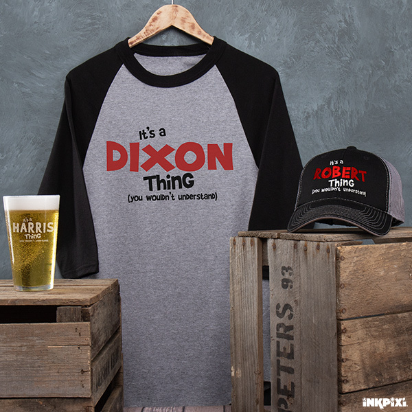 You Wouldn't Understand personalized shirts, hats, pints, and more