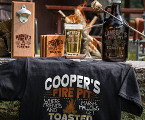 Fire Pit Personalized Shirts & More For Summer!