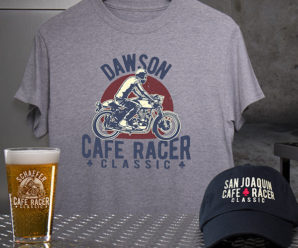 For Motorcycle Lovers – Personalized Shirts, Hats, & More
