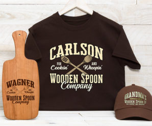 Personalized Wooden Spoon Giftware Just For You!