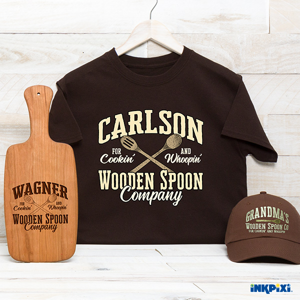 Wooden Spoon Personalized Gifts