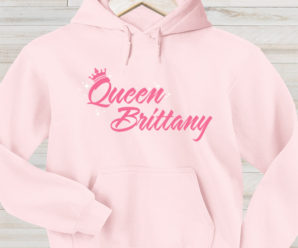 Rule In Our Queen Custom Hoodies