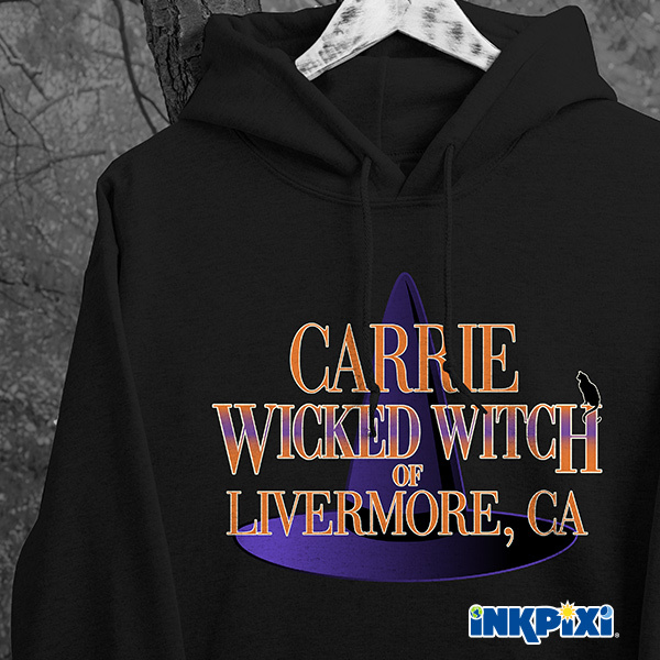 Wicked Witch custom hoodies