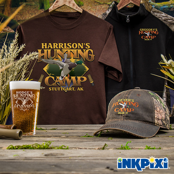 Duck Hunting Camp personalized shirts and more