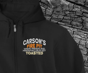 Fire Pit Full-Zip Custom Hoodies
