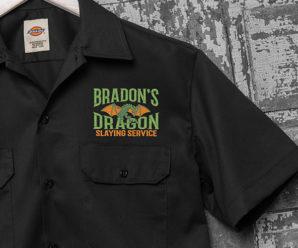 Dragon Slaying Personalized Shirts