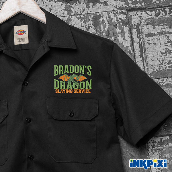 Dragon Slaying personalized shirts