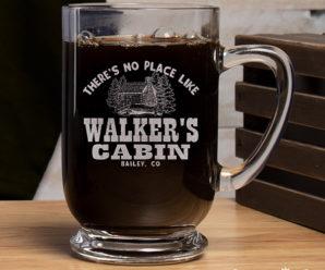 Cabin Custom Coffee Mugs