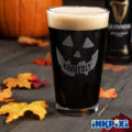 Pumpkin Custom Pint Glasses