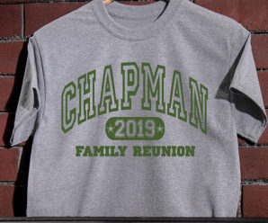 Athletic Family Reunion Personalized Shirts