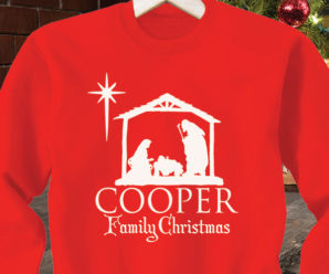 Nativity Custom Sweatshirts