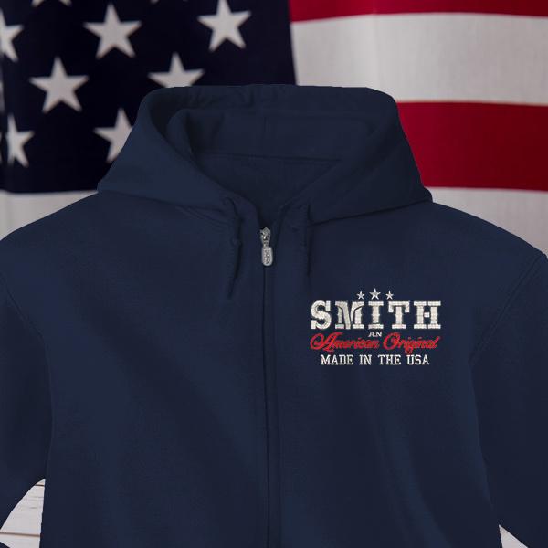 American Original Full-Zip Custom Hoodies