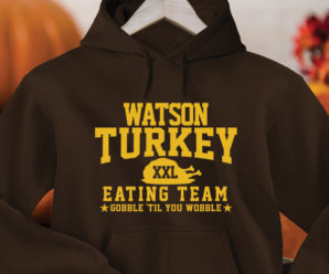 Turkey Eating Team Custom Hoodies