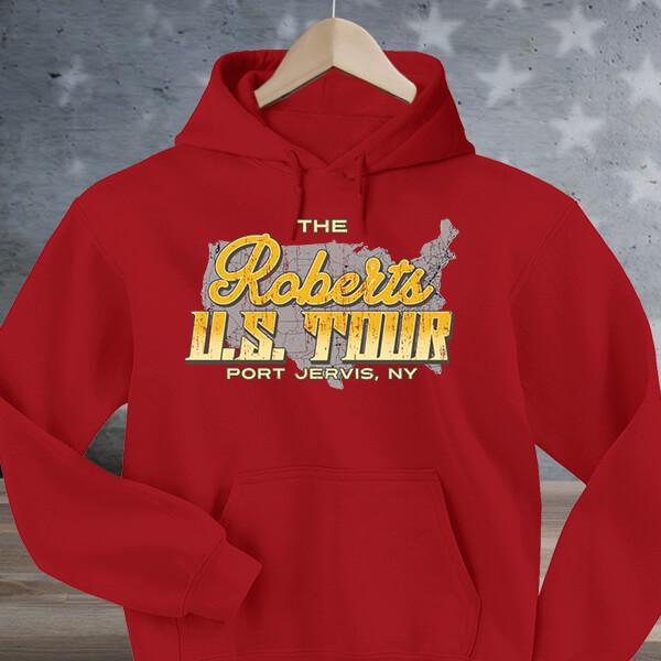 U.S. Tour custom hoodies