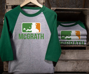 Major League Irish Personalized Shirts