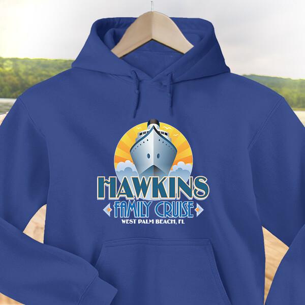 Family Cruise Custom Hoodies Design #D236