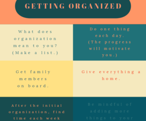 Organization Tips Proven To Help