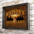 Custom Wall Art For Your Deer Camp