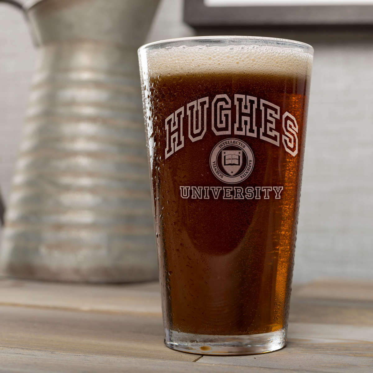 University Custom Pint Glasses