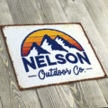 Get Outdoors With Our Custom Tin Signs