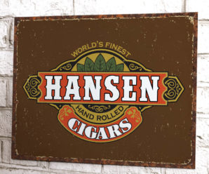 Cigars Custom Tin Signs