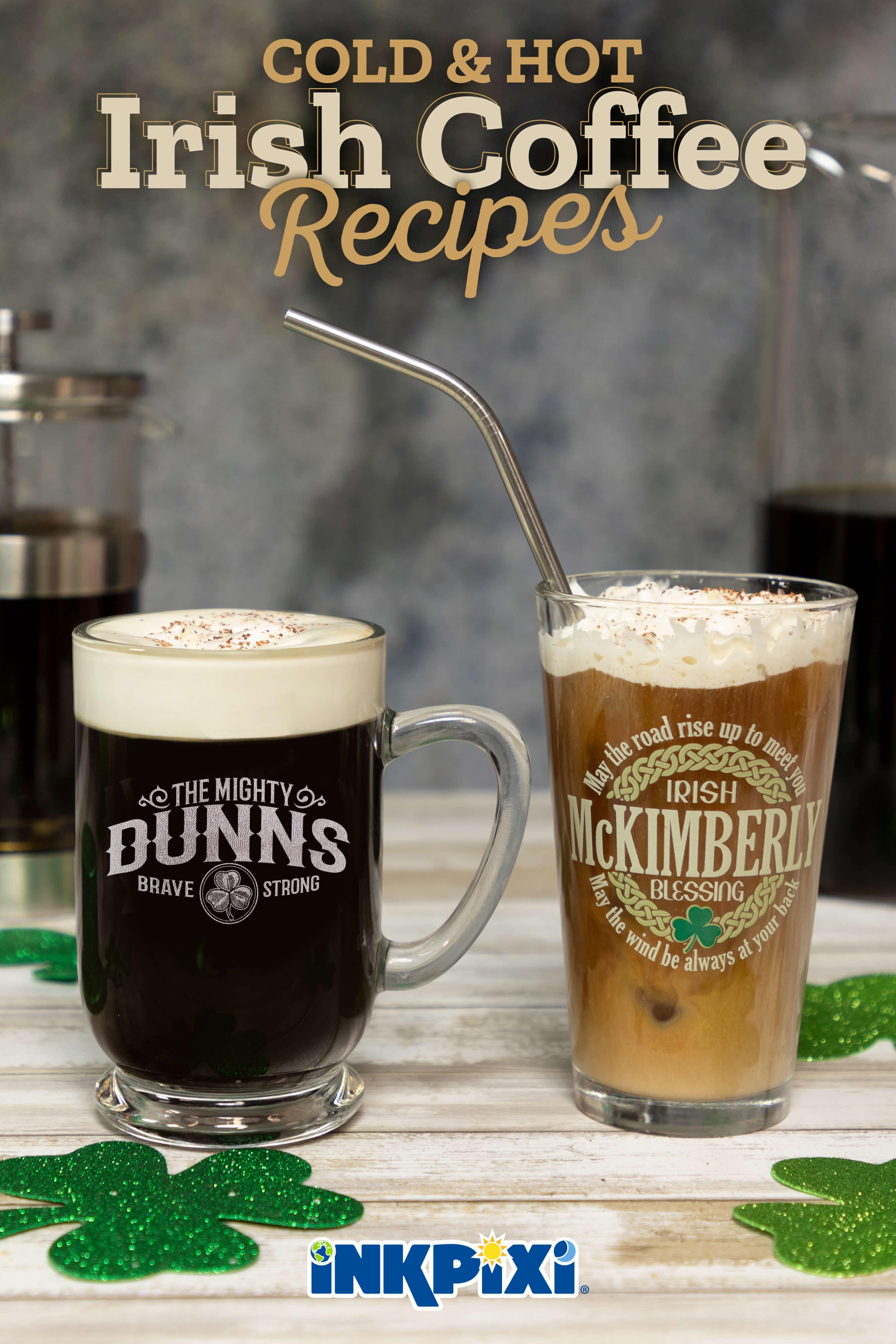 2 Easy Irish Coffee Recipes